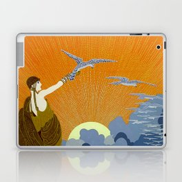 """Wings of Victory"" Art Deco Design Laptop & iPad Skin"