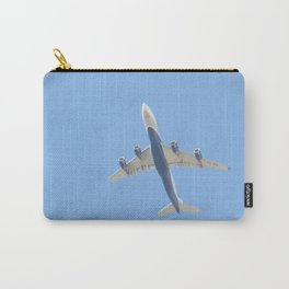 Flying plane enveloped in air Carry-All Pouch