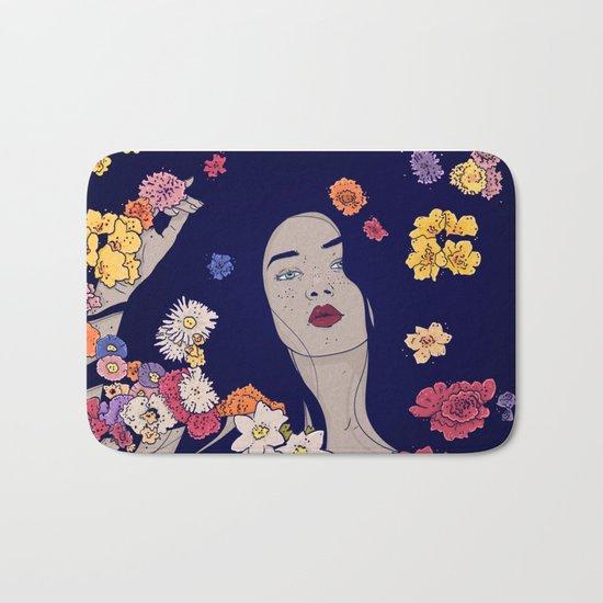 Spring Beauty Bath Mat