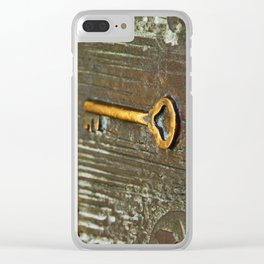 [barcelona] - ... the golden key Clear iPhone Case