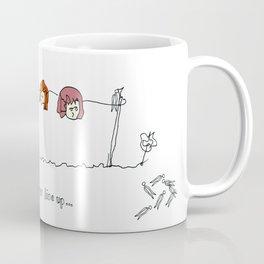 Band Pegged, The Sunday Line Up Coffee Mug