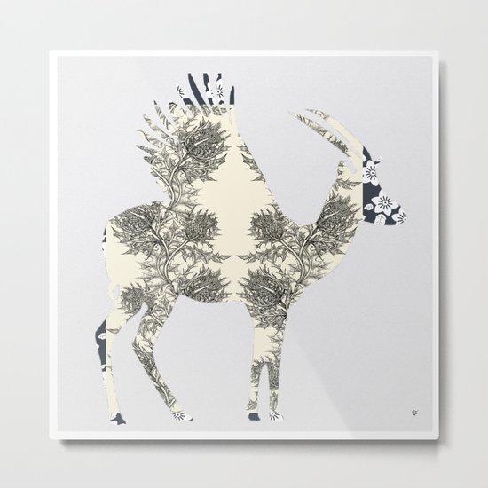 FabCreature · GoBi Metal Print