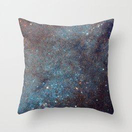 Awesome Andromeda Galaxy Photograph by NASA Hubble Telescope Throw Pillow