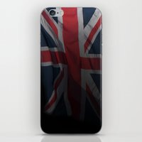 union jack iPhone & iPod Skins featuring union jack by allan