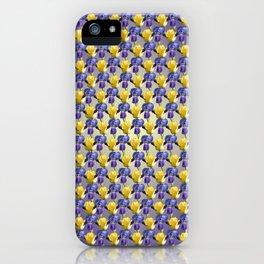 Tulip and Iris iPhone Case