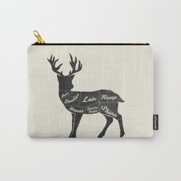 Venison Butcher Diagram-Deer Carry-All Pouch