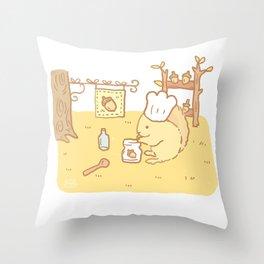 Squirrel Jam Throw Pillow