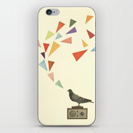 Pigeon Radio iPhone & iPod Skin