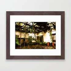Nature Wins Framed Art Print
