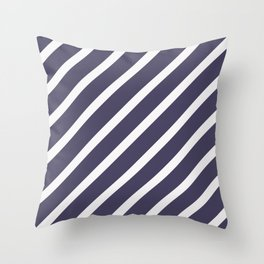 CLASSIC CROSS CURRANT Stripes Throw Pillow