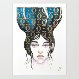 Mind Patterns I Art Print