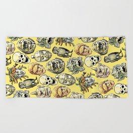 Epic Creatures (yellow) Beach Towel