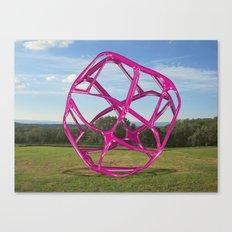 Purple Sphere - Sculpture Implants Series Canvas Print
