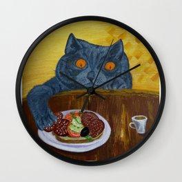 Food bandit1 Wall Clock
