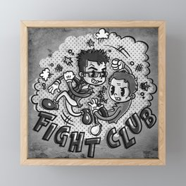 Fighters Framed Mini Art Print