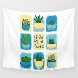 Petite Plant Posse Wall Tapestry