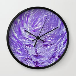 Blue Eolo Wall Clock