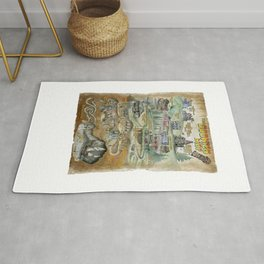 The Goonies Map Rug