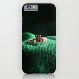 Claddagh Ring iPhone Case