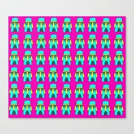 Hey Squidward Squidward Squidward Canvas Print