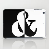 black white iPad Cases featuring Black & White by Beautiful Homes