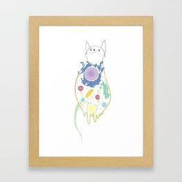 Animal Cell Framed Art Print