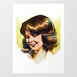 Annie Cartwright Art Print