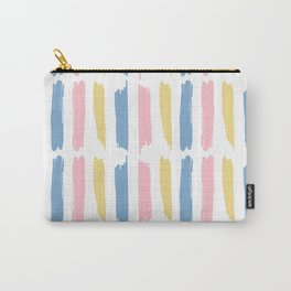 Pastel Paint Pattern Carry-All Pouch