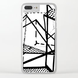 My Thoughts Exactly Clear iPhone Case