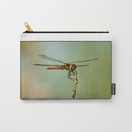 The Spanish Red Dragon Fly Carry-All Pouch