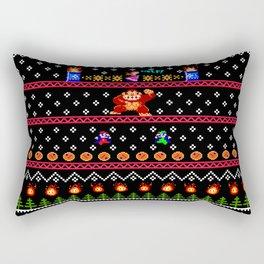Donkey Kong Ugly Sweater Rectangular Pillow