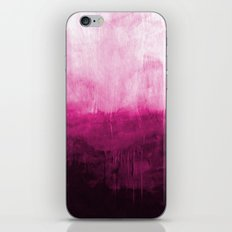 Paint 7 pink abstract painting ocean sea minimal modern bright colorful dorm college urban flat iPhone & iPod Skin