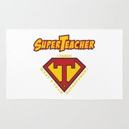 Super Teacher Rug