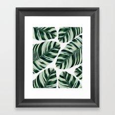 Tropical Foliage #society6 #buyart #decor Framed Art Print