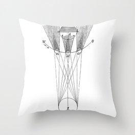 Solar phases Throw Pillow