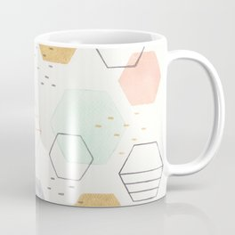 Hexagon Scatter Coffee Mug