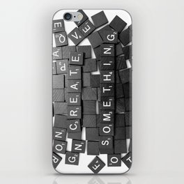 Anything Please iPhone Skin