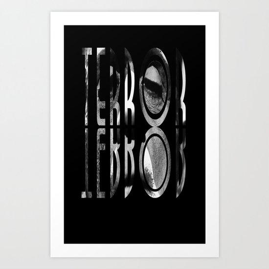 terror. Art Print