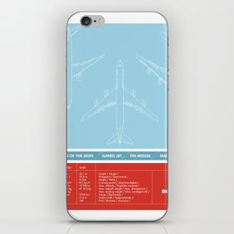 America aviation iPhone Skin