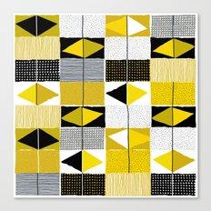 diamond pattern 034 Canvas Print