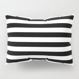 Black & White Stripes Pillow Sham