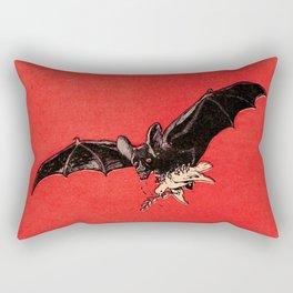 Der Vampir (The Vampire) by Arthur Krüger (1919) Rectangular Pillow