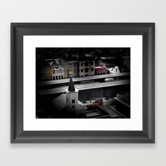 New Orleans Experiment A Framed Art Print