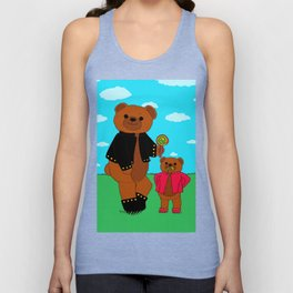 What a tough looking bears Unisex Tank Top