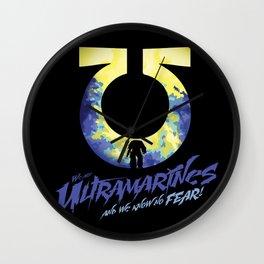 Ultramarines Wall Clock