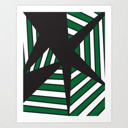 Modern Pictograph 04 Art Print
