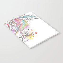 Abstract Beauty Notebook