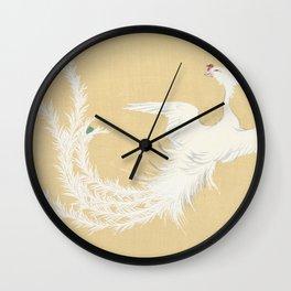 Kamisaka Sekka - Bird from Momoyogusa Wall Clock