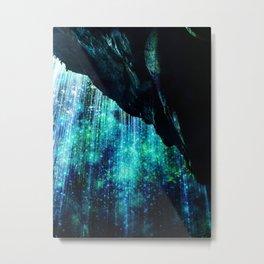 Enchanted Waterfall Metal Print