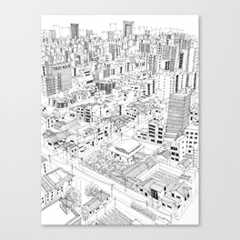 Asakusa, Japan Canvas Print